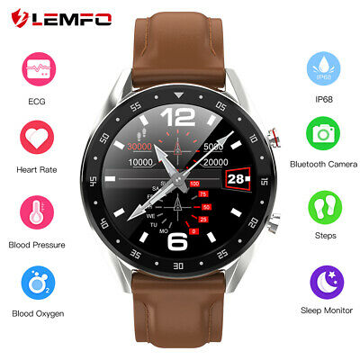 Lemfo L7 ECG Reloj inteligente Monitor de sueño IP68 Bluetooth Android IOS