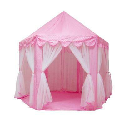 Kid Princess Castle Play Tent Indoor Outdoor Playhouse Beach Tent Game Playhouse
