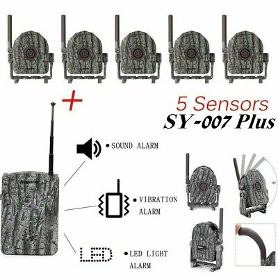 Bestguarder 360°Wireless Hunting Security Alarm hunting camping home security BA