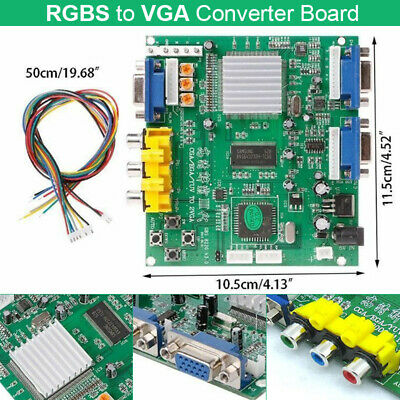 Arcade Game RGB/CGA/EGA/YUV to VGA HD Video Converter Board GBS8200 DIY