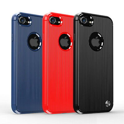 Shockproof Silm Silicone Soft Case Cover for Apple iPhone XS Max XR 8 7 Plus 6s