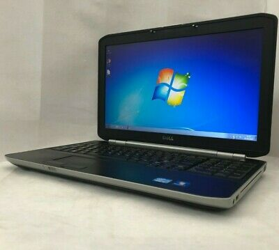 Dell Latitude E5520 Core i3-2310M 2.10GHz 4GB RAM 320GB HDD Win 7 Pro Laptop
