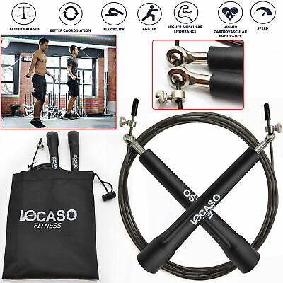Rope Skipping Fitness Crossfit Speed Boxing Gym Exercise Jump Adjustable Jumping