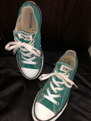 Converse Low Top Green Size US3 UK 2.5