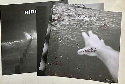RIDE This is not a safe place Limited Ed Set Of 4 Signed Prints Autographed