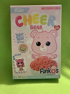 Funko's Cheer Bear Cereal By Funko With Pocket Pop Exclusive