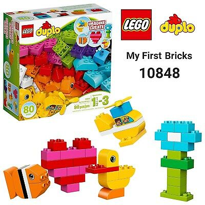 LEGO Duplo My First Bricks 10848 Colorful Toys Building Block Kids Pretend Play
