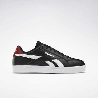 Reebok Royal Classic Complete 3.0 black Leather Shoes UK 7-12