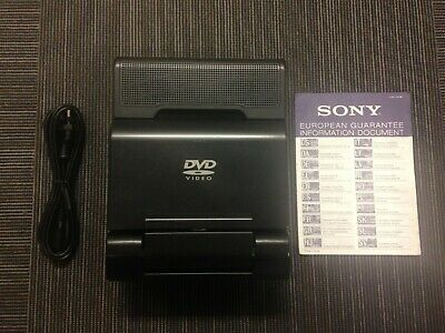 Sony MV-65ST In Car Theatre DVD Player with Bag and Car Adaptor