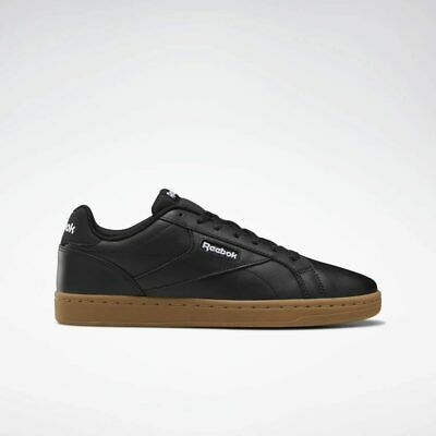 Reebok Royal Complete Clean LX black soft Leather Shoes UK 7-12