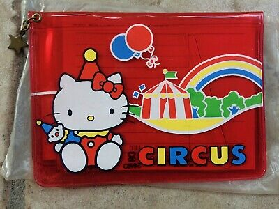 Hello Kitty Circus Fun Vintage Memo Phone Numbers Sanrio 1976 Rubrica