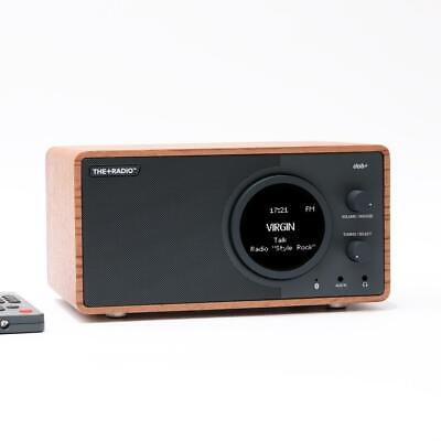 +Audio THE+RADIO DAB+ Radio with Bluetooth (Rosewood) - FACTORY OUTLET STOCK
