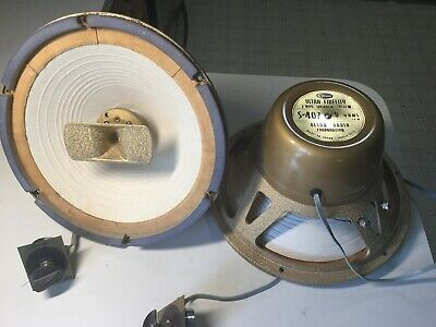 Vintage Tube Audio. Olson S-407 Coaxial Speakers. RARE Chamois Surrounds. Japan.