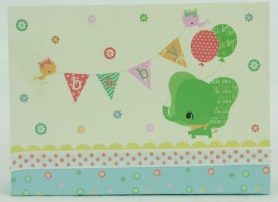 Pepper Pot Boxed Notecards Baby's Buddies Greeting Card Elephant Baby Banner
