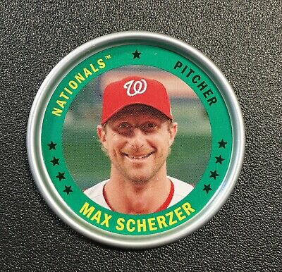 Max Scherzer 2019 Topps Archives Coin #C-18 Washington Nationals Baseball Insert