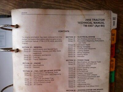 2950 JOHN DEERE Technical Service Shop Repair Manual HUGE ... Jd Wiring Diagram on