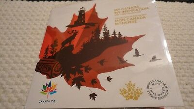 2017 My Canada My Inspiration 5 Coin Set,  Free Shipping