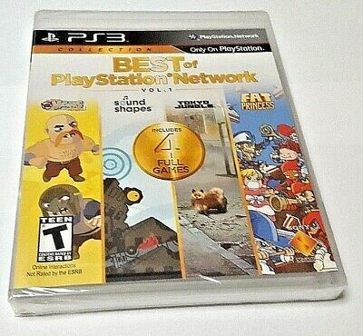 Ps3 Best Of Playstation Network Vol 1 New Sealed Region Free Ships From Europe Eur 44 90 Picclick It