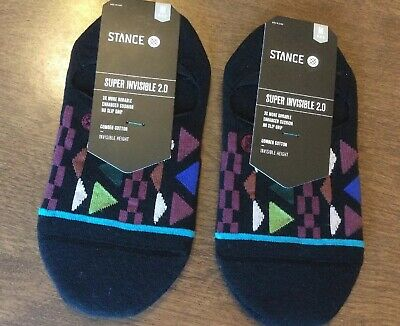 """Stance /""""Buzzy Low/"""" Super Invisible Socks Men/'s No Show Bee Graphic Sock Black"""