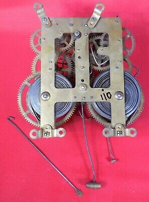 Antique Ansonia Clock Movement 1 of many to come...lot # 110