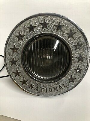Vintage Industrial Retro Antique National Light From New York