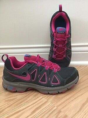 Details about Nike Air Alvord 9 Trail Womens Running Athletic Sneaker Shoe Gray Red Size 8.5