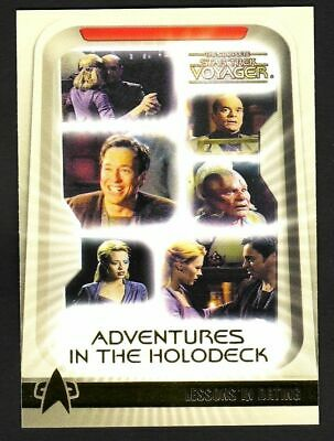 H9 The Complete STAR TREK Voyager Adventures in the Holodeck Insert SET H1