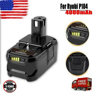 18V 4AH FOR Ryobi P108 One+ Compact Lithium-Ion 18 Volt P102 P107 P104 Battery