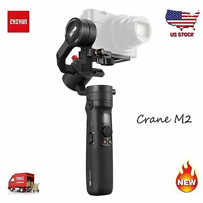 Zhiyun Crane M2 3-Axis Gimbal Stabilizer For Gopro Mirrorless Iphone Android US