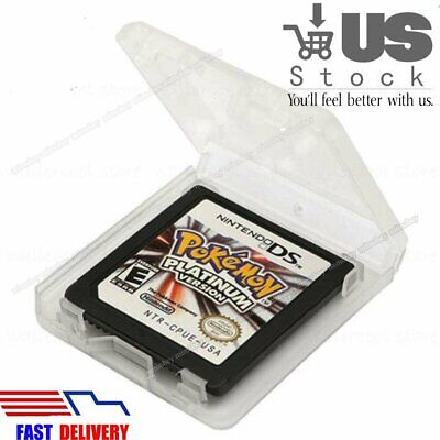NEW Pokemon Platinum Version Game Card for DS 2/3DS NDSI NDS NDSL Lite US