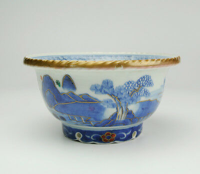 Antique Rare Imari Ware Porcelain Bowl Over 150 Years Ago Late Edo Japanese