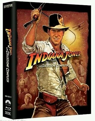 Indiana Jones Oferta Quadrilogi Pack 5 Blu Ray Precintado Certificado Castellano