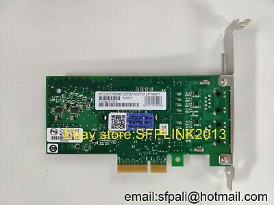Intel Gigabit Dual PORT GIGABIT ETHERNET PCIe NIC Card EXPI9402PTBLK with yotta