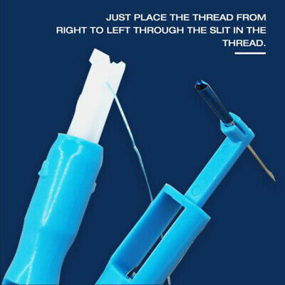 Easy To Use Sewing Machine Needle Threader & Inserter