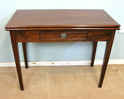 Antique Georgian Mahogany Tea Table / Hall, Side, Lamp Table