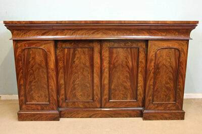 Quality Antique Victorian Mahogany Chiffonier Sideboard Server