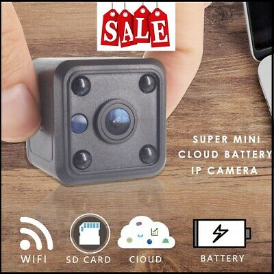 Home Security WiFi Camera Mini CCTV Battery IP Camera HD 720P