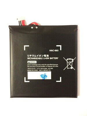 New Replacement Battery Pack For Nintendo Switch Console 4310mAh HAC-003 UK