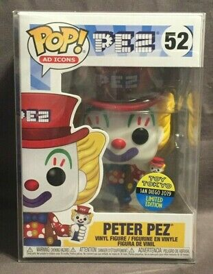 Funko Pop Ad Icons 2019 SDCC Toy Tokyo Exclusive Peter Pez #52