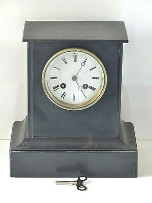 Antique Late 19th Century French Slate Mantel Clock – Vincenti Movement