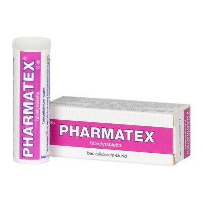 PHARMATEX-Vaginal tablets-Contraception to reduce risk of pregnancy-12 tablets