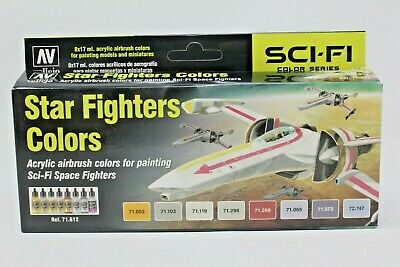 Vallejo Star Fighter Colors Paint Set VAL71612 New