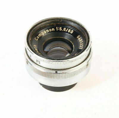 Schneider Componon 80mm F5.6 Chrome Enlarging vintage lens