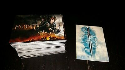The Battle of the Five Armies  Trading Card Complete Base Set The HOBBIT