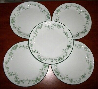 """Corelle CALLAWAY IVY Dinner Plates Lot of 5 10 1/4"""""""