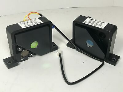 Nd:YAG Laser Resonator Cavity Mirrors HR + OC 1064nm w/ Kinematic Mounts Plano