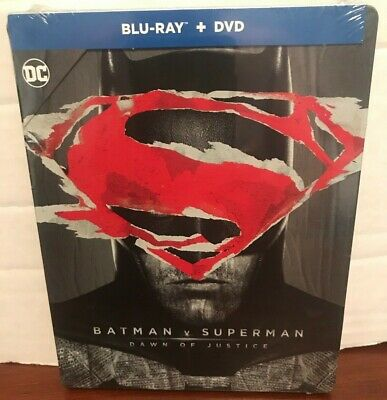 Batman v Superman Dawn of Justice SteelBook Blu-Ray DVD NEW and It Chapter Two 2