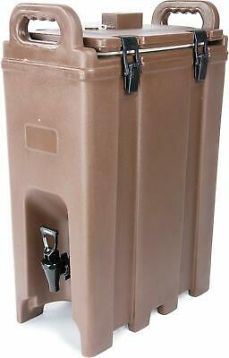 Carlisle LD500N01 Cateraide Insulated Beverage Server/Dispenser, 5 Gallon, Brown