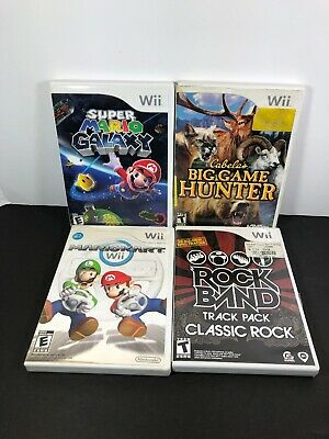 Lot of wii games: Wii Super Mario Galaxy,Wii Mariokart, Wii Rock Band Etc...