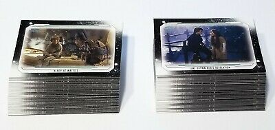 2019 Topps Star Wars Skywalker Saga- BASE Set- (100) Cards